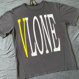 Vlone staple tee yellow